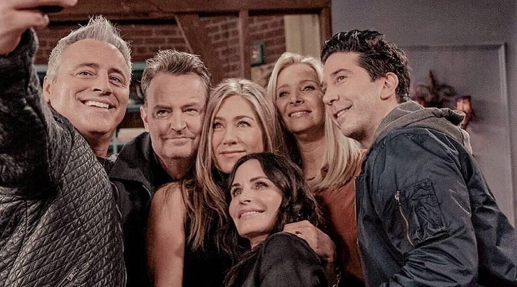 觀眾對於「六人行」所有主角再聚一堂很有興趣,給予熱情的支持。圖/摘自HBO