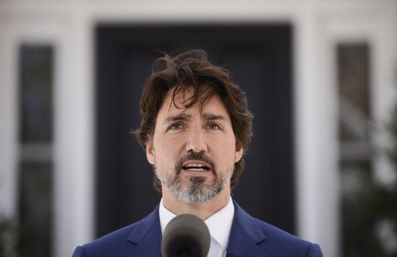 加拿大總理杜魯多。圖/美聯社