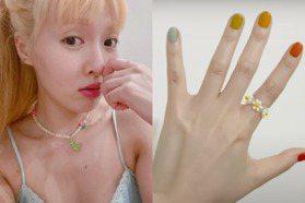 日韓串珠飾品持續流行!可愛小花串珠戒指、手鍊、口罩鍊超簡單做,手把手教給你
