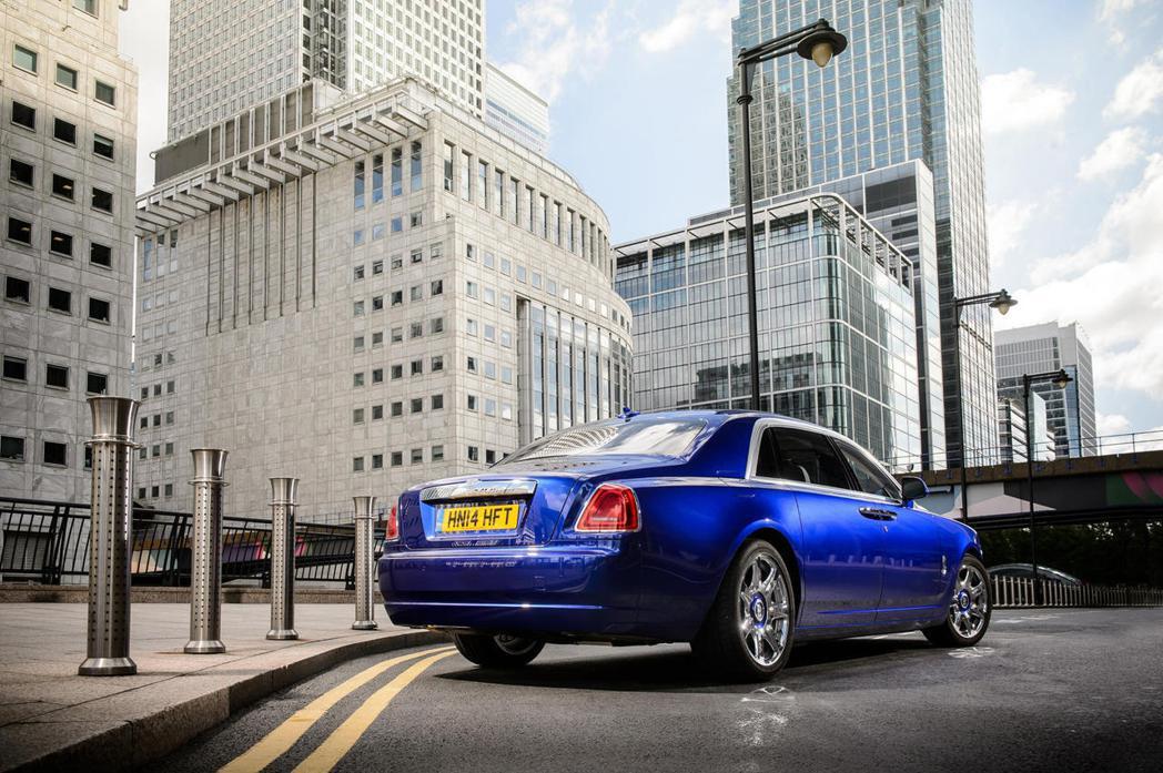 Rolls-Royce Ghost。 圖/摘自CarBuzz.com