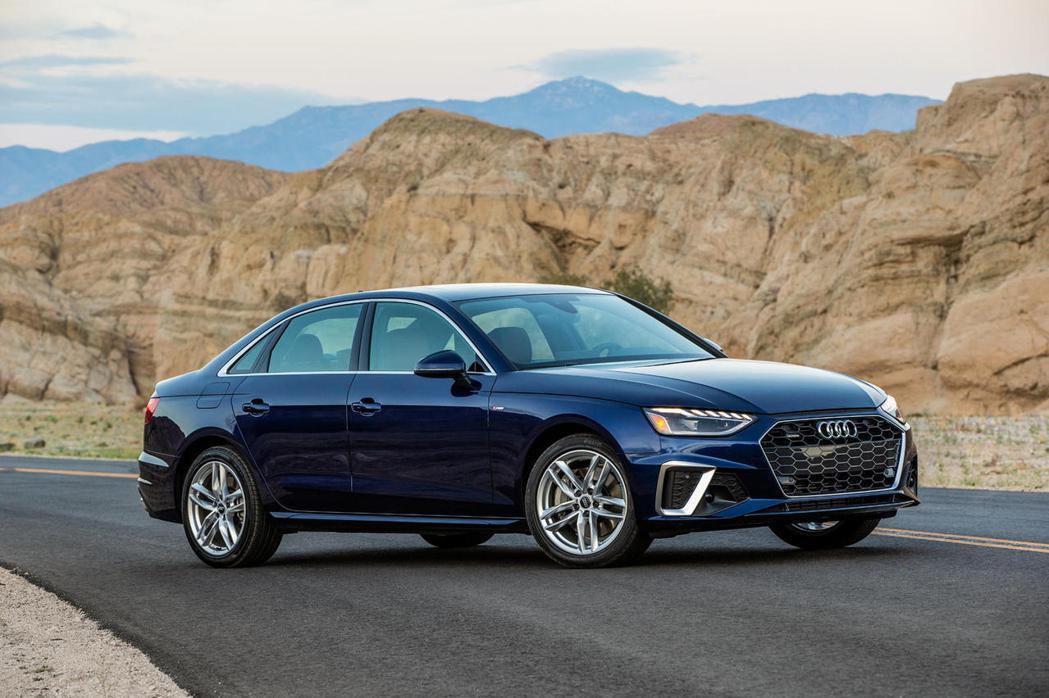 Audi A4。 圖/摘自CarBuzz.com