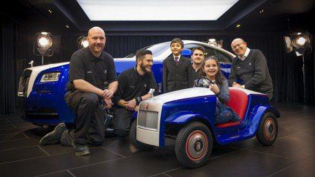 Rolls-Royce首輛電動車有洋蔥 陪病童踏上重生之路