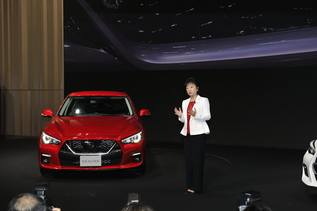 星野朝子副社長表示,「日產永遠不會放棄 Skyline」。 摘自Nissan.J...
