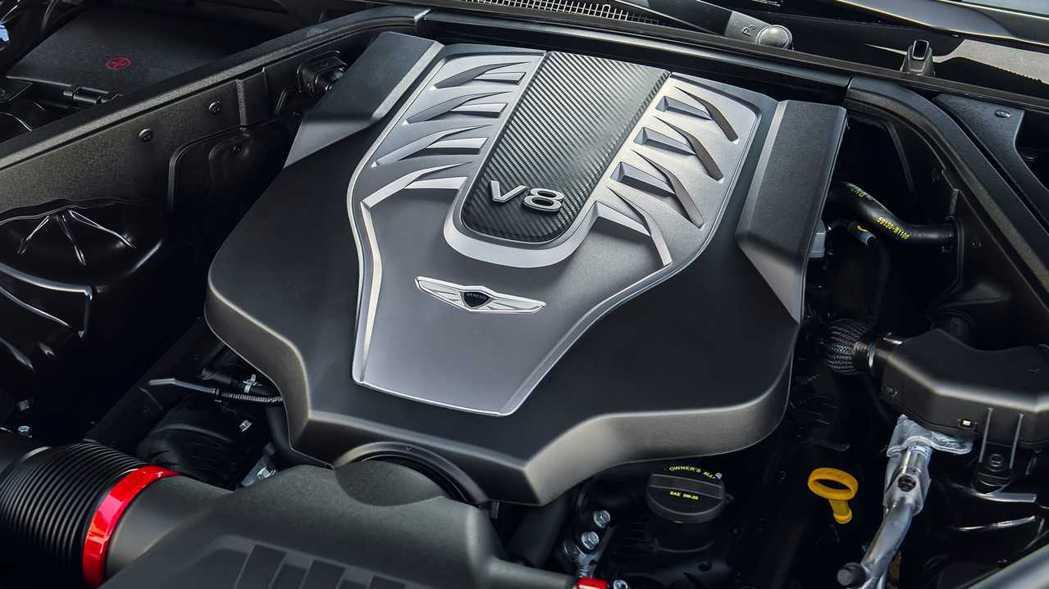 Hyundai-Kia集團的5.0 Tau GDi V8引擎功臣身退。 摘自Ge...