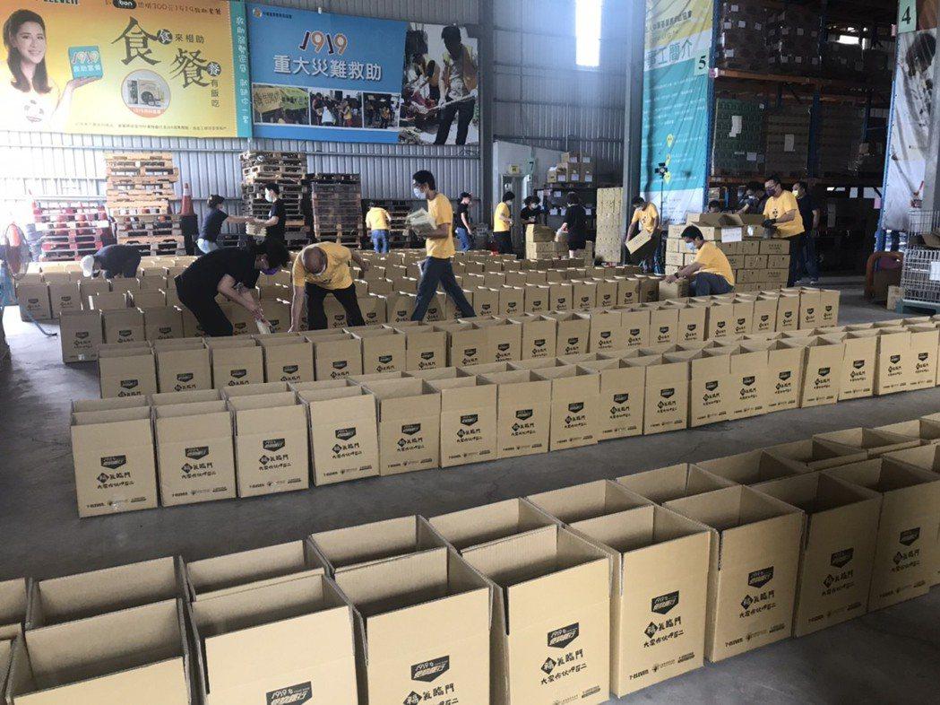 1919防疫食物包11天通過1855件申請。中華基督教救助協會/提供