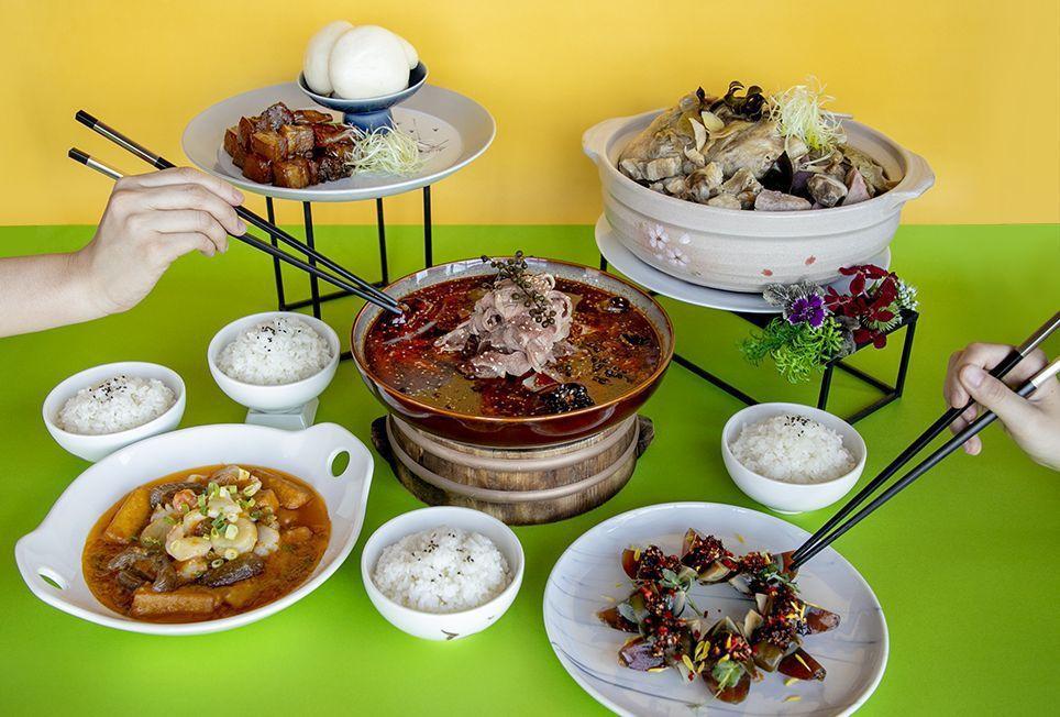 和逸飯店.桃園館逸薈軒提供4人分享餐2,680元。 和逸飯店/提供