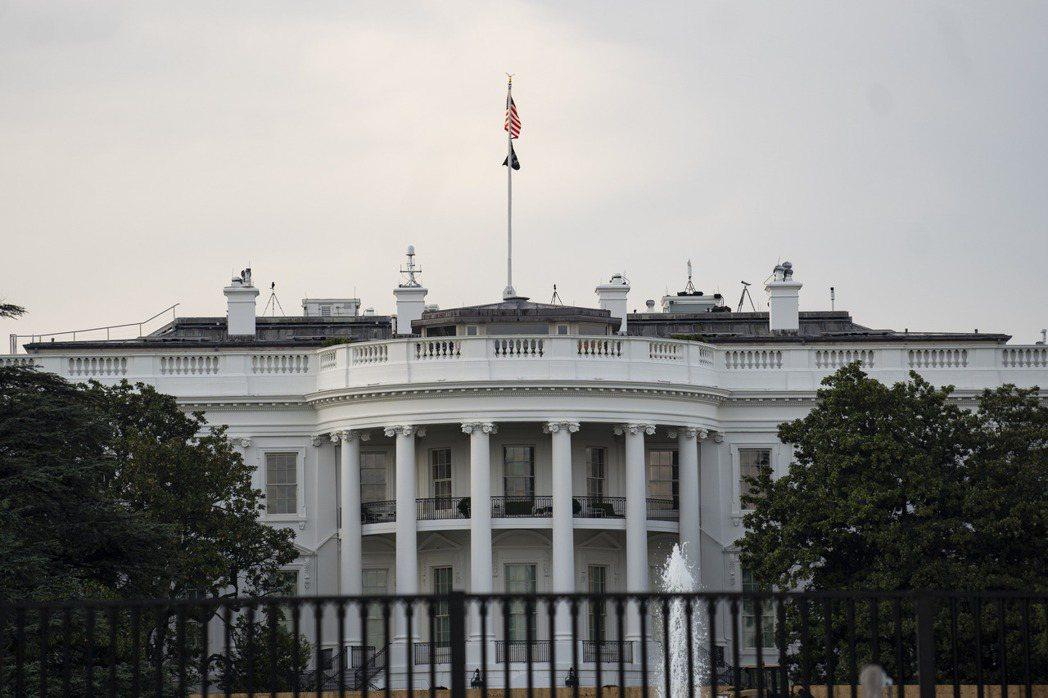 美國白宮。新華社