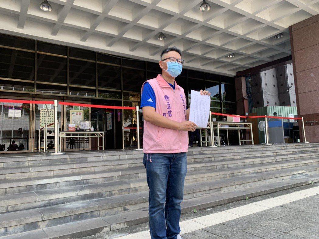 台北市議員徐立信。記者賴佩璇/攝影