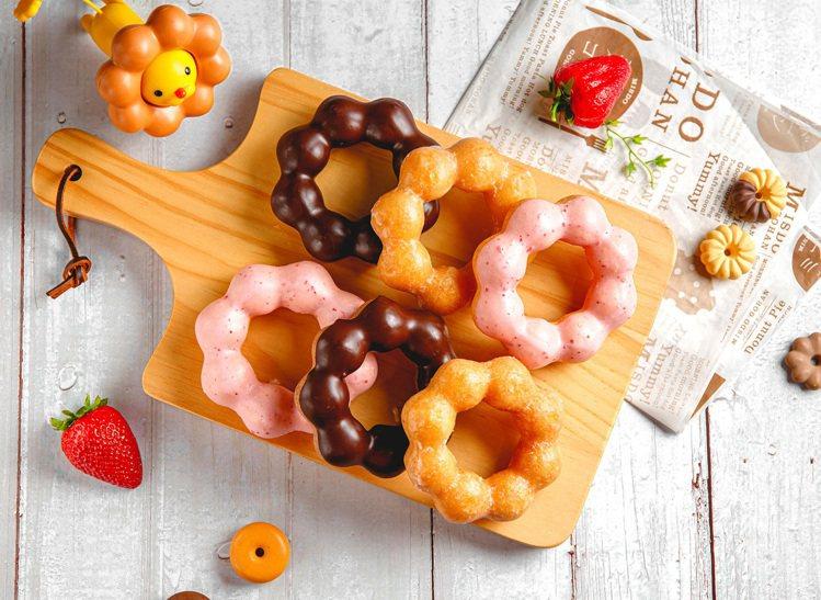 Mister Donut推出甜甜圈買10送10的限時優惠。圖/Mister Do...