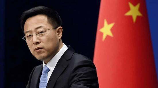 大陸外交部發言人趙立堅。圖/取自北京日報