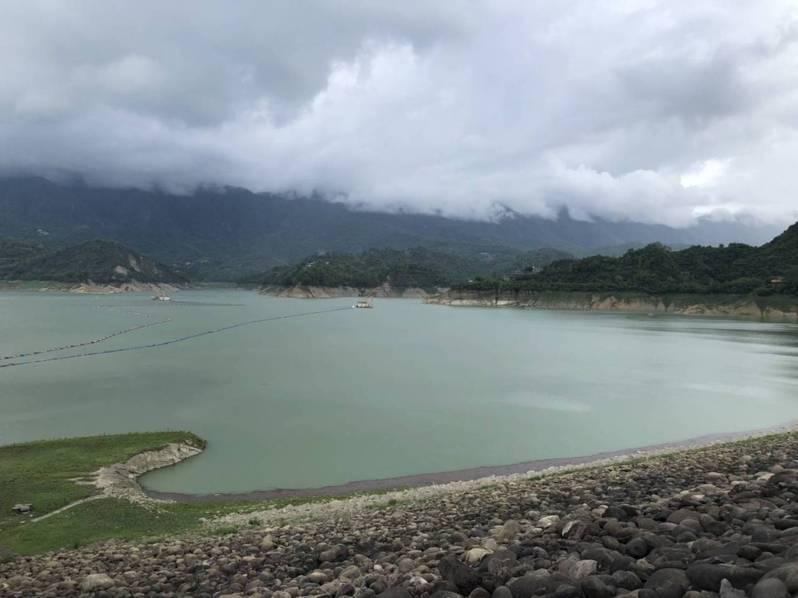 南部蓄水率低?南水局表示曾文水庫超爭氣已「逆轉勝」。圖/南水局提供
