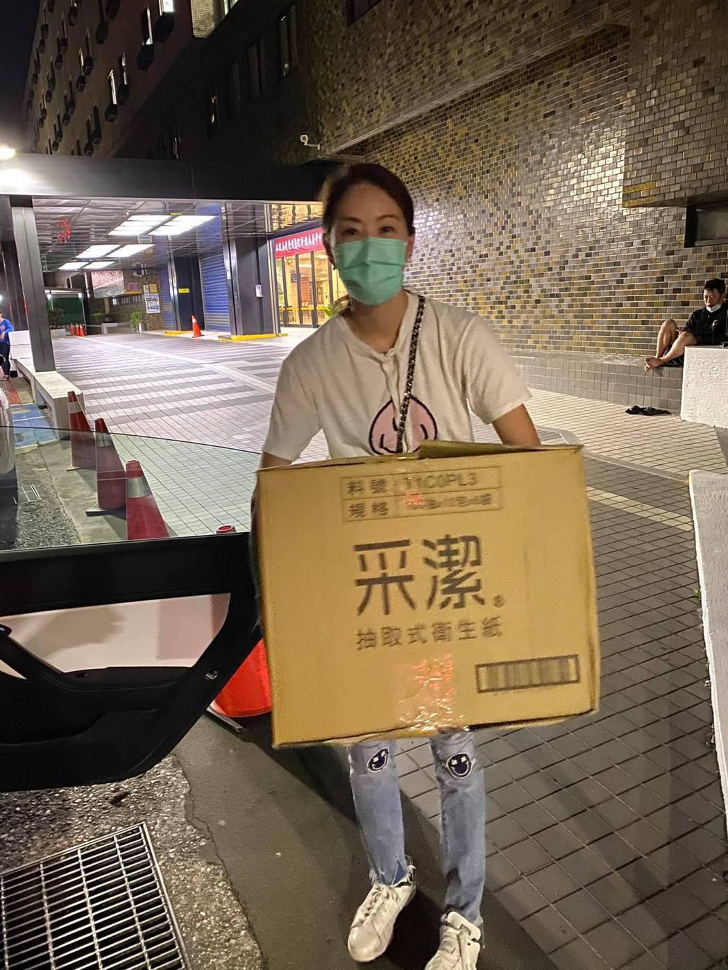 賈永婕的善舉獲得外界廣大迴響。圖/摘自臉書