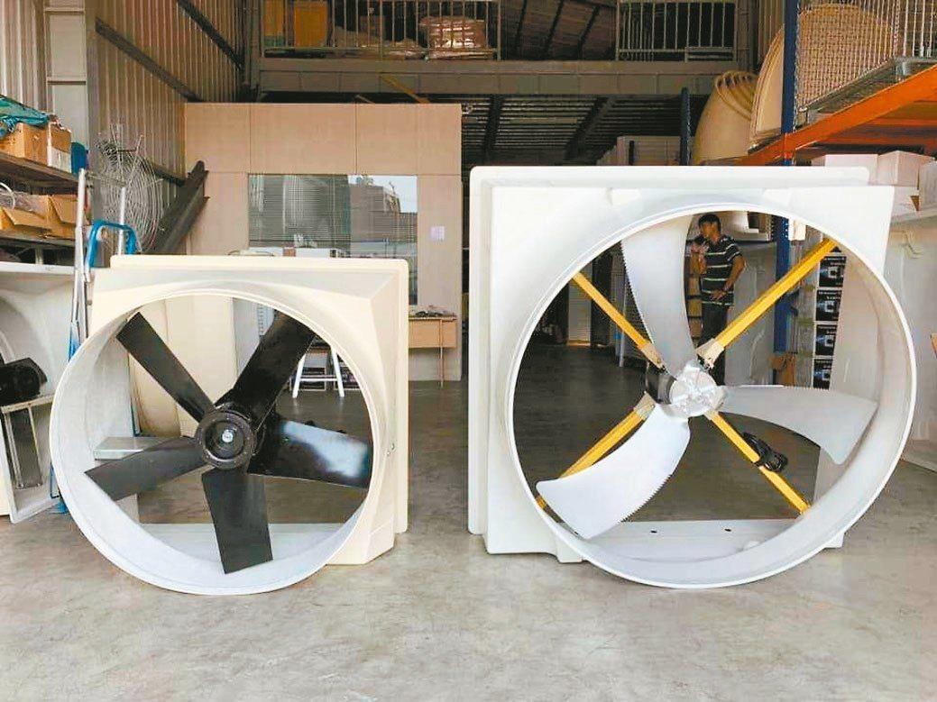 晉有負壓通風設備,有效解決廠房悶熱、異味及通風不良的問題。晉有通風/提供