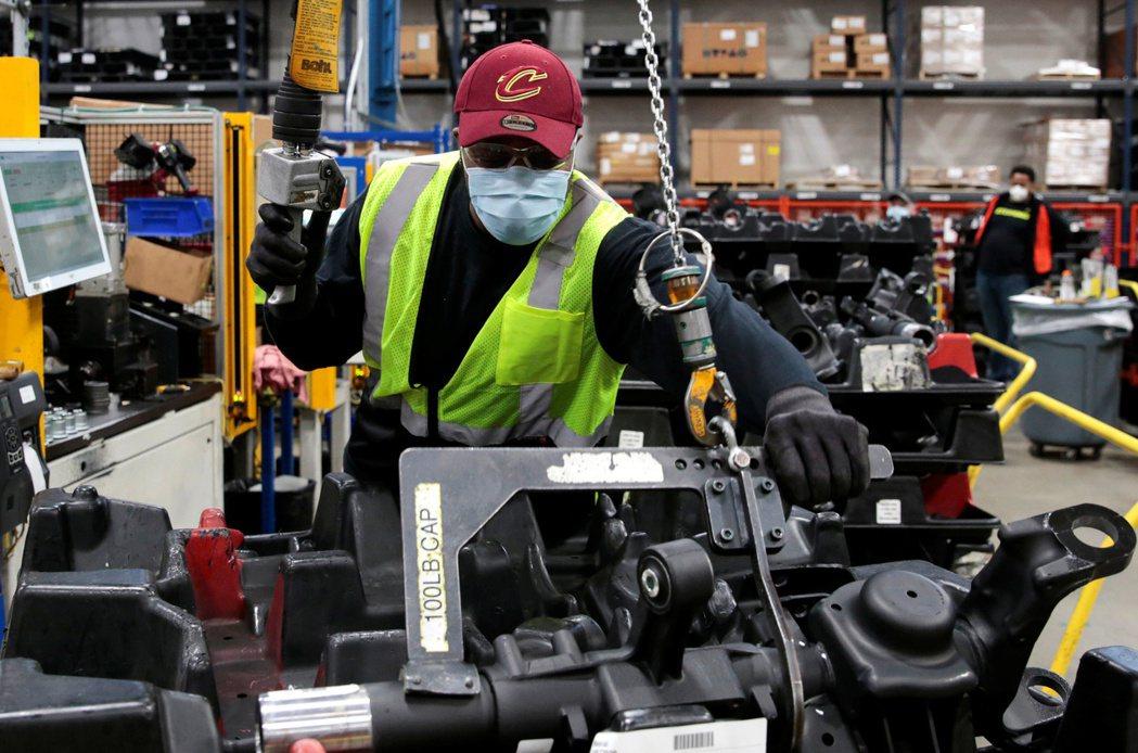 美國5月生產者物價高於市場預期。(路透)