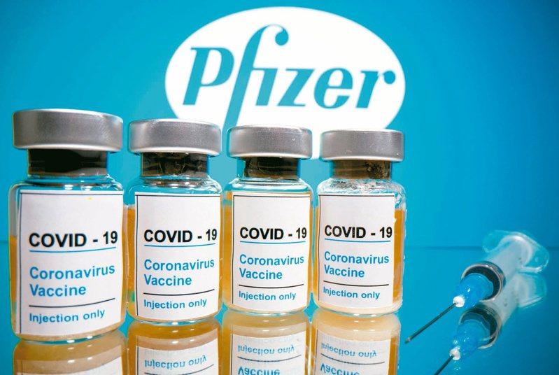 BNT新冠疫苗。(路透)