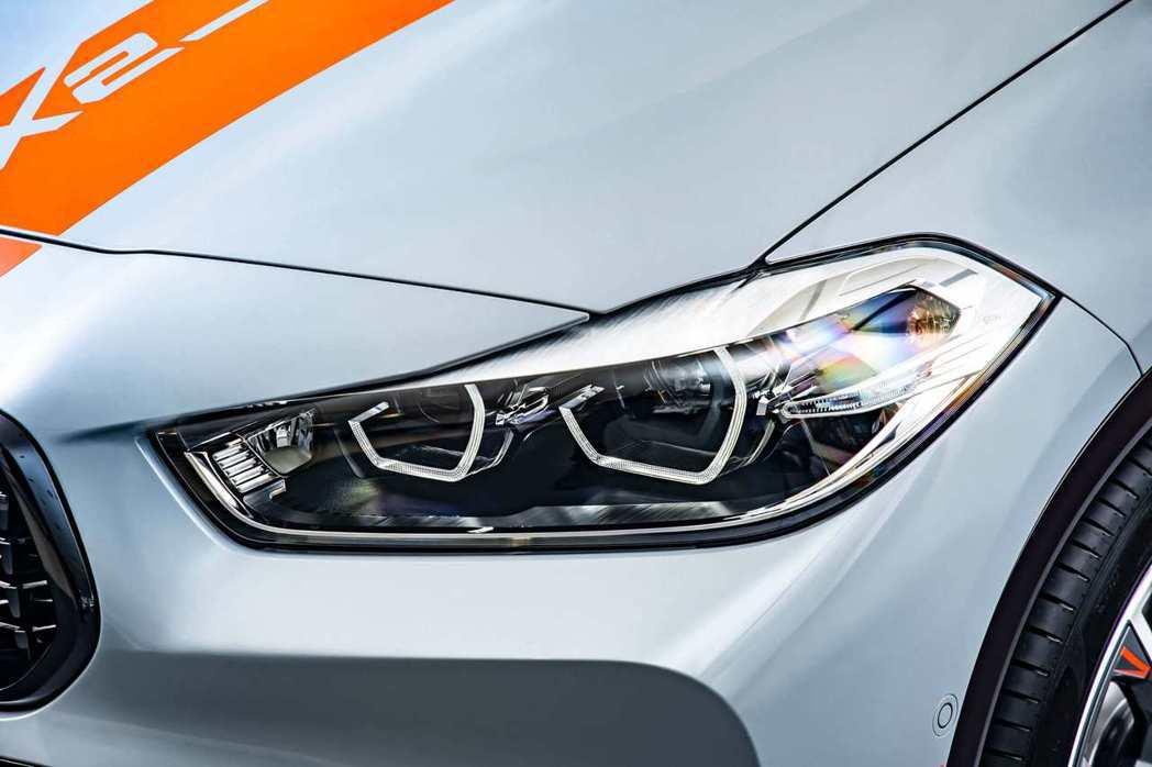 全新LED頭燈使BMW X2 M Mesh Edition眼神更加犀利,動靜之間...