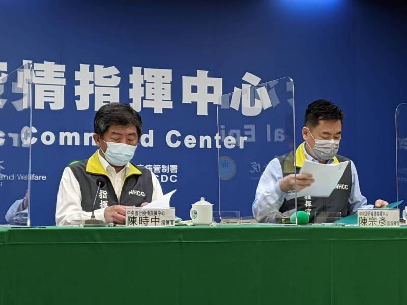 指揮中心指揮官陳時中今天強調,國產疫苗審查皆以科學、專業為原則,並依法規程序採購。聯合報系記者謝承恩/攝影