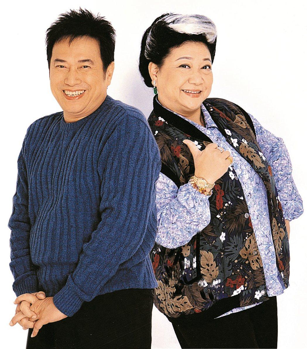 資深藝人長青(左)傳出過世消息。圖/報系資料照