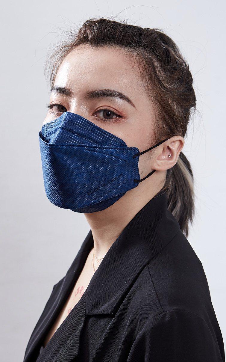 U-MASK 韓版KF防霾PM2.5立體口罩塑型鼻壓條緊貼鼻樑,前置立體空間增大...