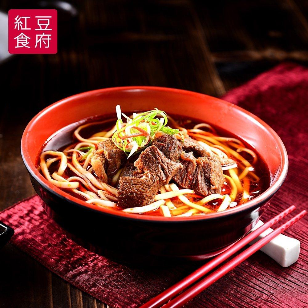 【紅豆食府SH】紅燒牛肉麵,590元。 遠傳friDay /提供
