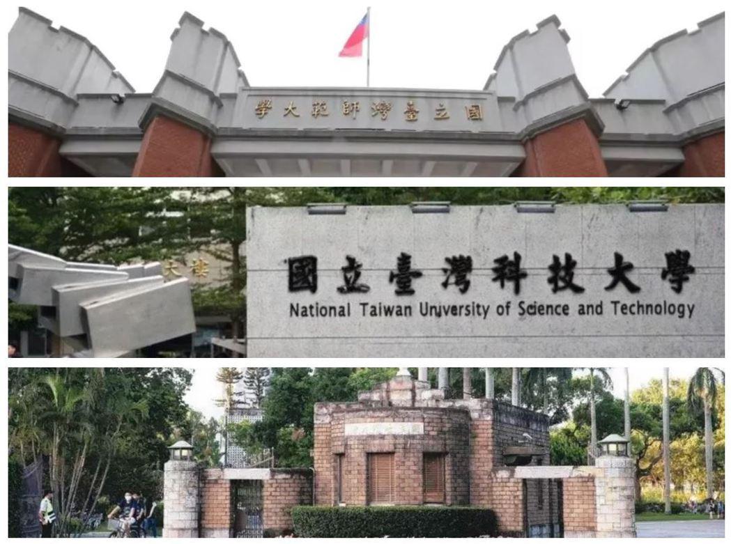 台灣大學系統由台灣大學、台灣師範大學、台灣科技大學三校組成,預計110學年第一學...
