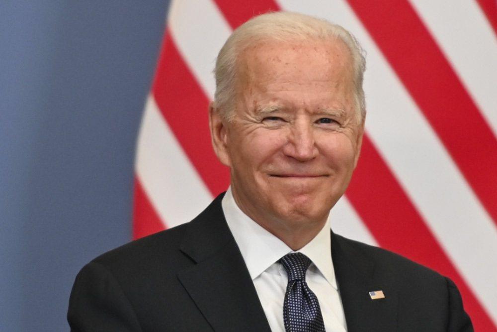 美國總統拜登。歐新社