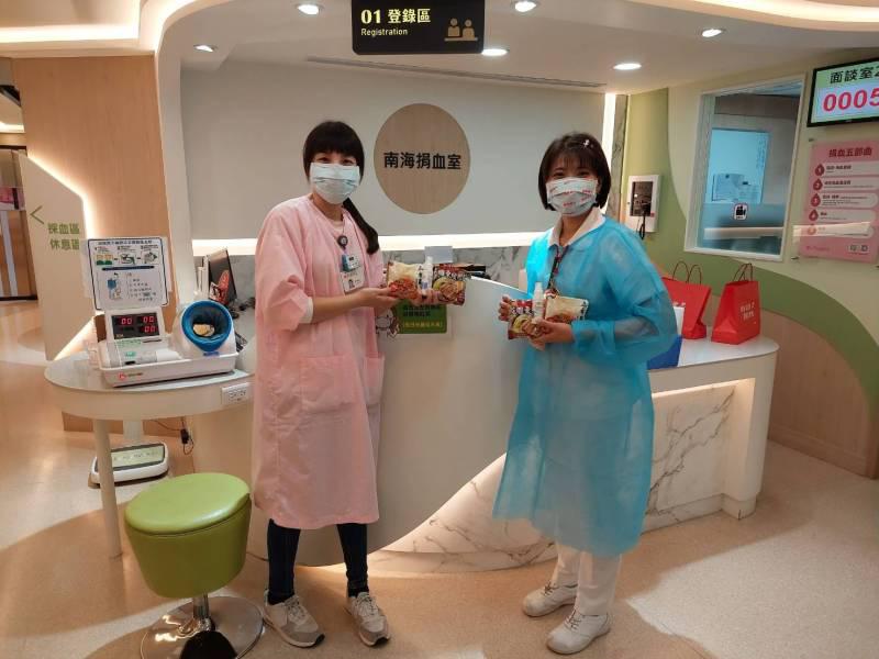 台灣菸酒將於6月17(四)、18(五)兩日與台北捐血中心之南海捐血室合作,鼓勵社...