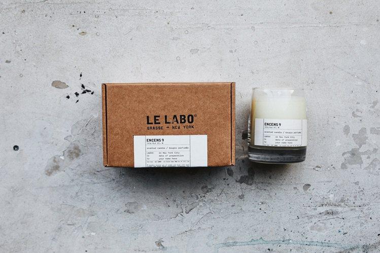 LE LABO乳香9香氛蠟燭/245g/2,650元。圖/10/10 Apoth...