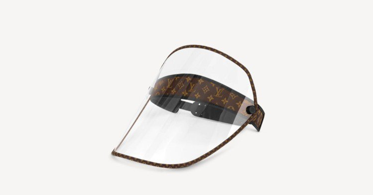 LV Shield面罩,30,700元。圖/取自LV官網