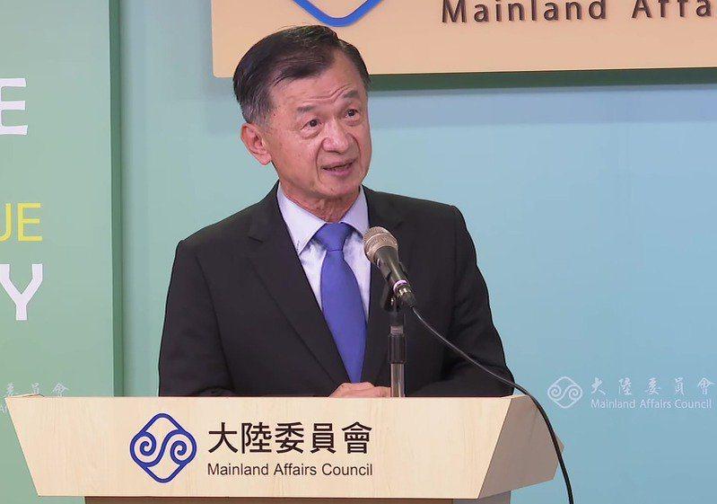 陸委會主委邱太三。圖/聯合報系資料照片