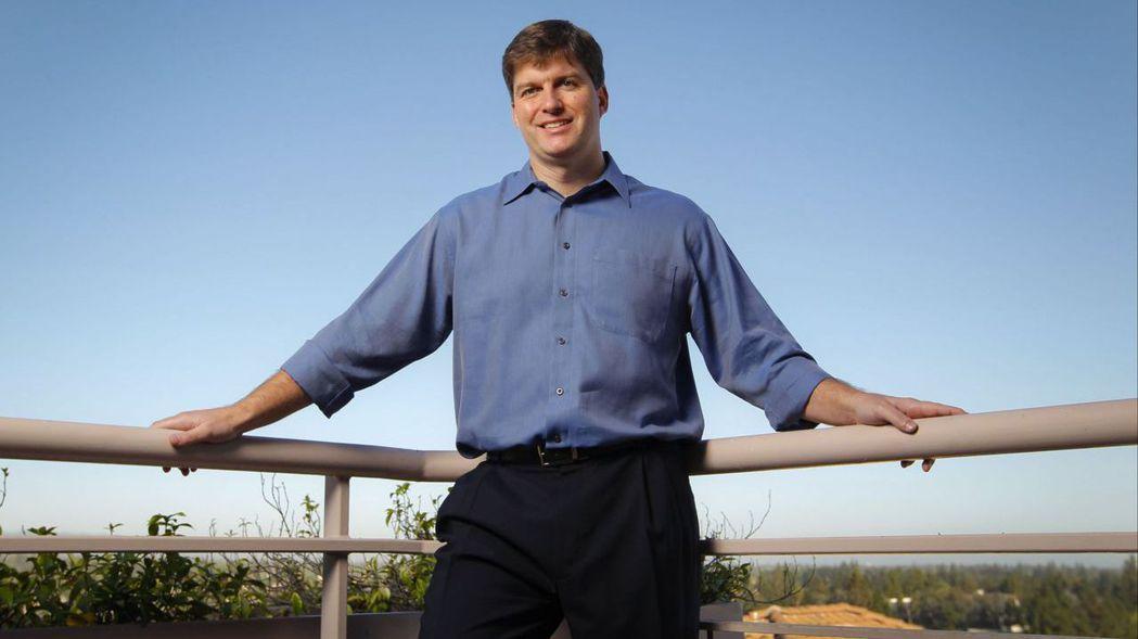 電影《大賣空》主角本尊、Scion資產管理公司創辦人兼執行長貝瑞。彭博資訊