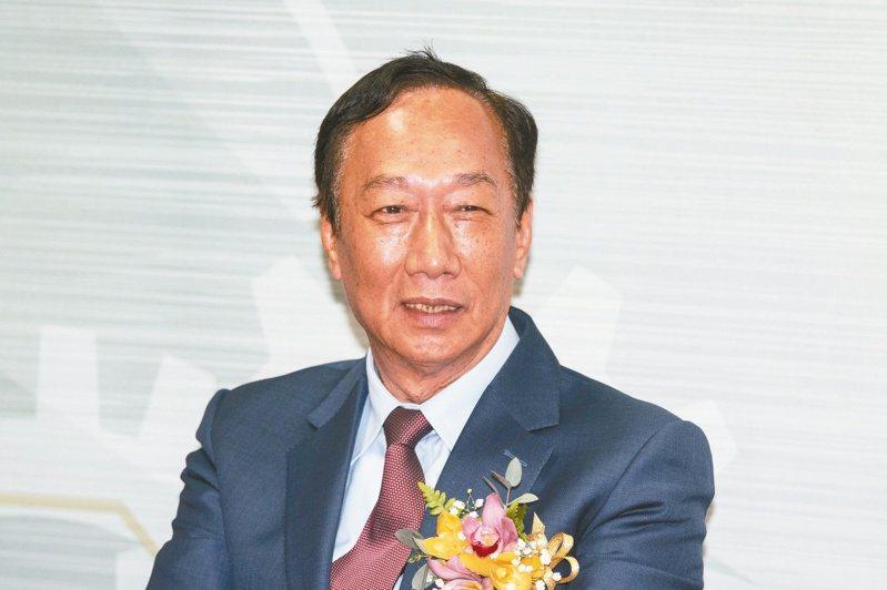 鴻海創辦人郭台銘。本報資料照片