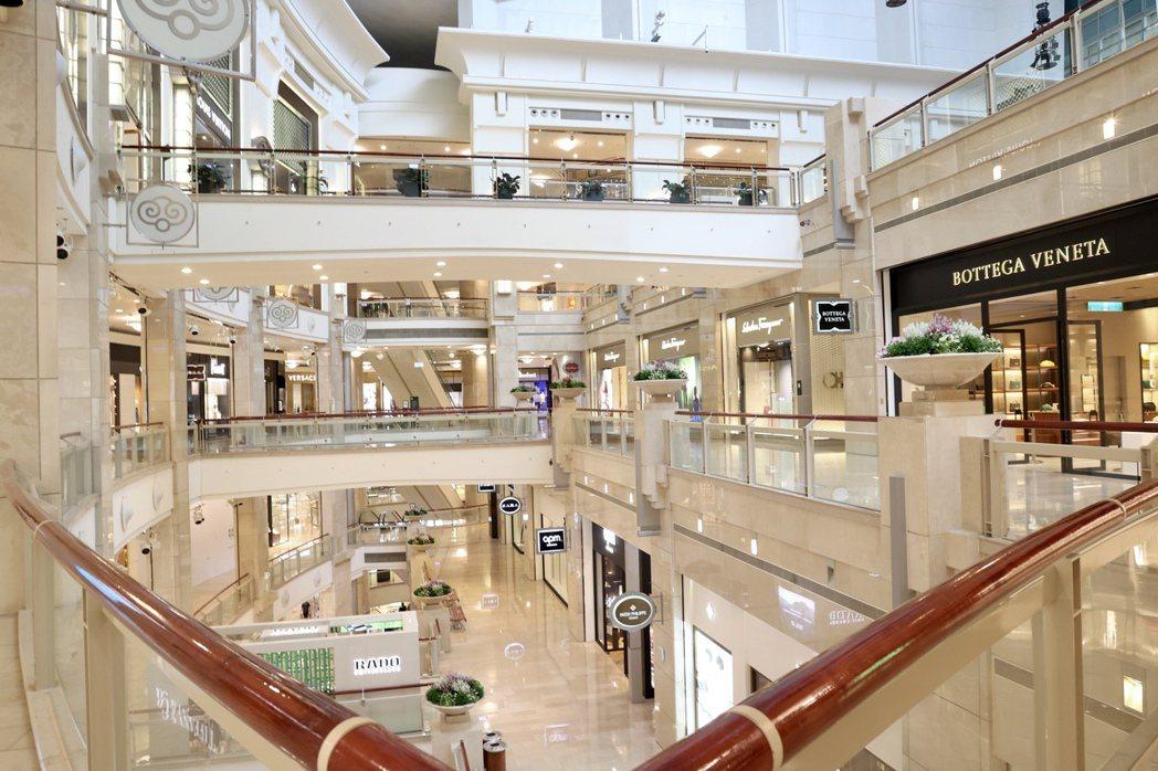 台北101購物中心。本報資料照片