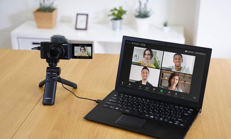 會議、視訊、直播三棲的輕影⾳神機Sony ZV-1系列,限時回饋3,000元,一...