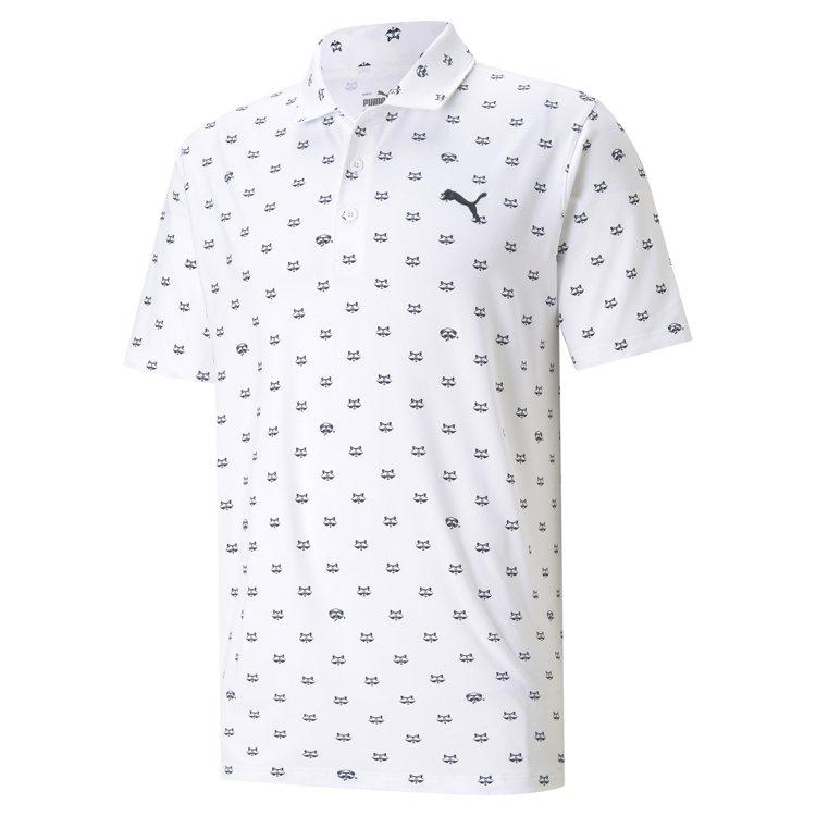PUMA GOLF Rocco系列Cloudspun浣熊圖樣短袖Polo衫2,4...