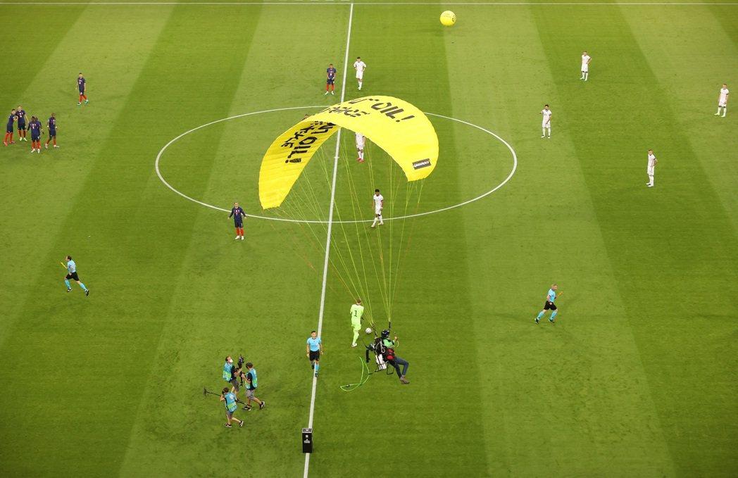 2020年歐洲國家盃台北時間16日凌晨正準備上演F組的法國出戰德國時,卻發生一名...