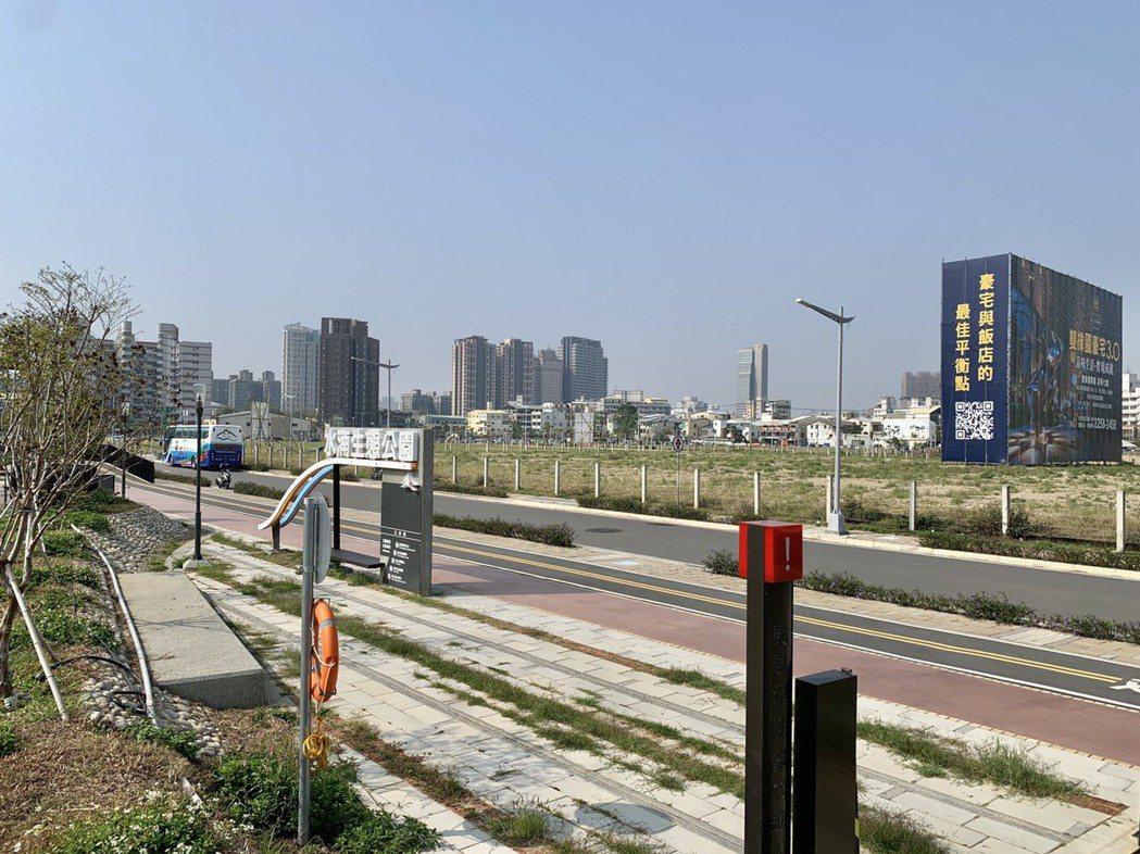 台中市14期「仁平段」土地兩年漲逾六成,每坪85萬刷新區域紀錄。記者宋健生/攝影