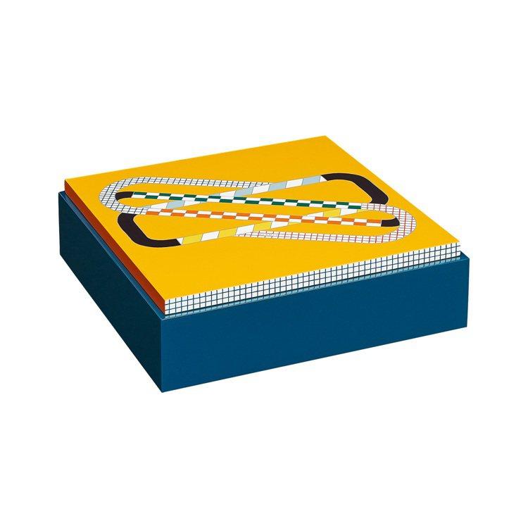 Théorème Round and Round 系列置物盒(檸檬黃)。圖/...