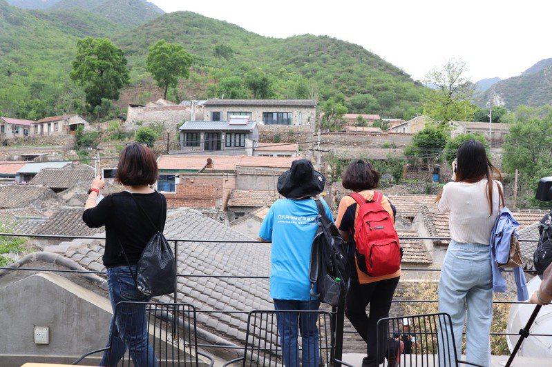 門頭溝的黃岭西村古村落。記者呂佳蓉/攝影