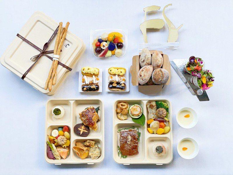 米其林一星餐廳鹽之華開業15年以來,首次推出外帶餐盒。圖/鹽之華提供。