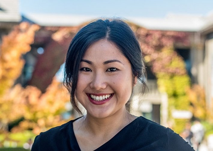 Amy Fan 關注少數婦女的醫療照護權。 圖/Berkeley Haas