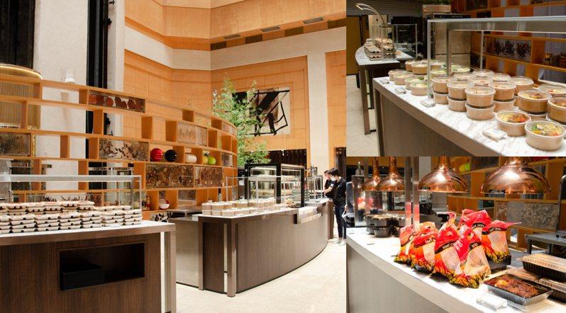 十二廚搖身一變為大型外賣專門店。圖/取自台北喜來登大飯店官網