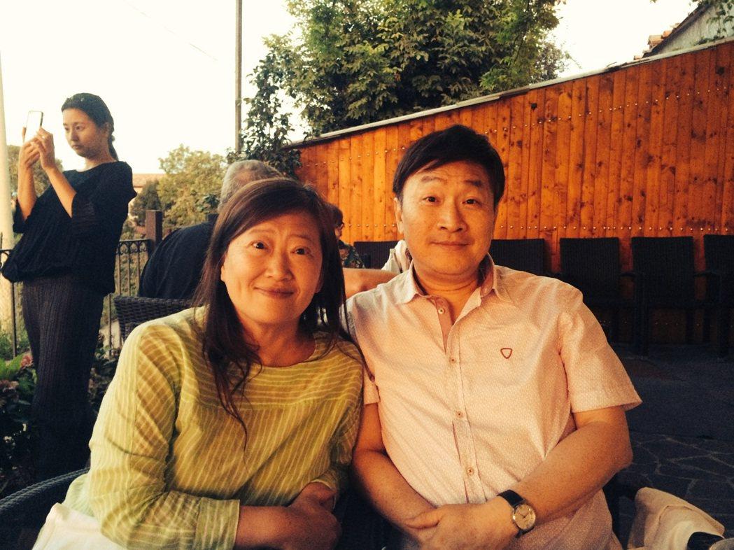 朱全斌與韓良露時常至各地旅行、品嚐美食。圖/朱全斌 提供