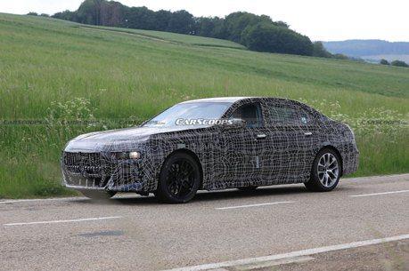 新平台加持還有純電i7 大改款BMW 7 Series預約慕尼黑車展登場!