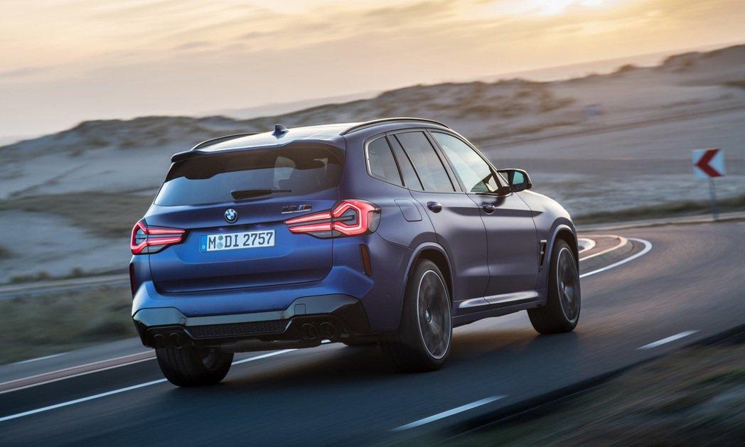 BMW X3 M Competition。 摘自BMW