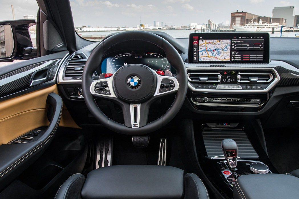 雙12.3吋螢幕讓所有資訊都一目了然。 摘自BMW