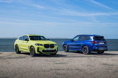 小改款後性能更猛爆 全新BMW X3/X4 M Competition發表!