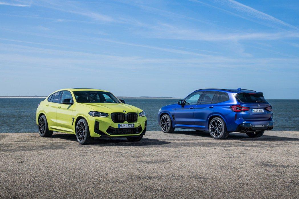 小改款BMW X3/X4 M Competition發表。  摘自BMW
