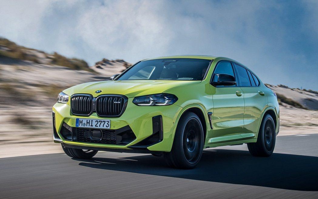 BMW X4 M Competition。 摘自BMW
