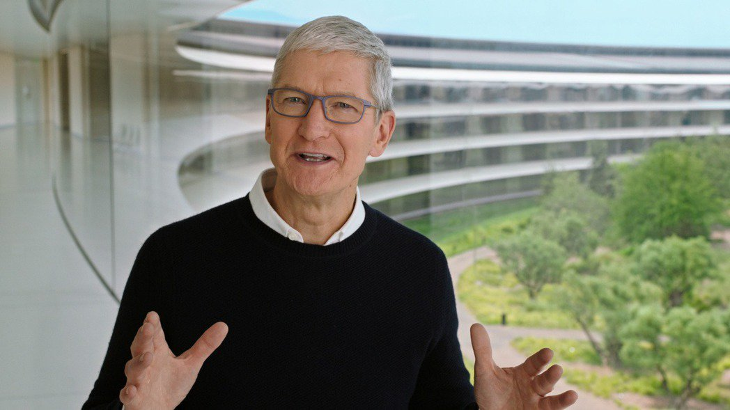 蘋果公司執行長庫克。路透